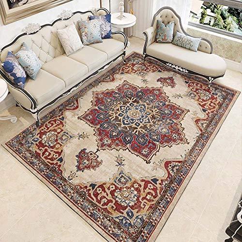 Böhmen ethnischen Stil teppiche Wohnzimmer Schlafzimmer kristall Kaschmir gedruckt couchtisch teppiche europäischen Carpet Bad wc Matte,C,80x160CM
