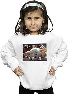 Star Wars Niñas The Mandalorian The Child Song Meme Camisa De Entrenamiento