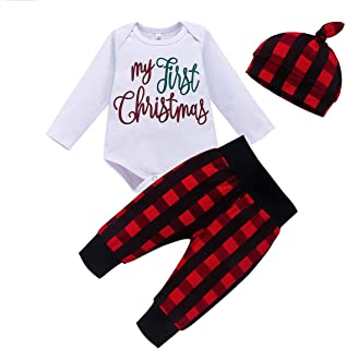 Baby Boy Girl Clothes Cute Letter Printing Newborn Infants Bodysuit Romper Baby Outfits Pants Sets 3 Pcs