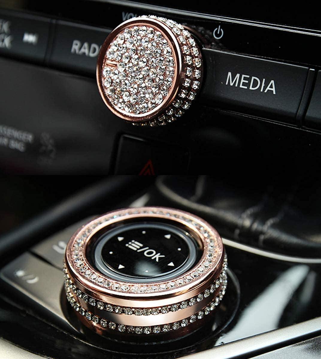 Bling Accessories Fit for INFINITI Q50 Phoenix Mall Q60 Mult In a popularity knob Volume QX50