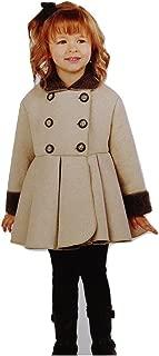 Mack & Co. Girls' Fleece Jacket (2, Tan)