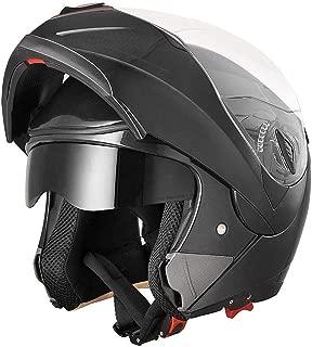 Best all black motorcycle helmet Reviews