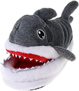 Generic Cute Ladies Plush Shark Shape 3D Animal Slippers Funny Indoor Shoes