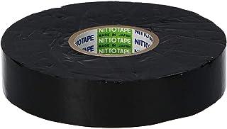 ニトムズ プロセルフ 自己融着ブチルゴムテープ No.15 電気 絶縁 水道管の防水 強力接着 幅19mm×長さ10m×厚さ0.5mm 1巻入 黒 J7100