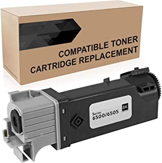 Do it Wiser Compatible Toner Cartridge Replacement for Xerox Phaser 6500N 6500 6500DN WorkCentre 6505N 6505DN   106R01597 (Black)