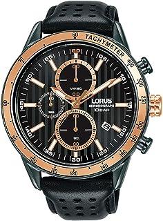 ساعة لوروس للرجال انالوج بعقارب كوارتز بسوار جلدي RM333GX9