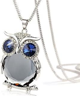 owl skull necklace