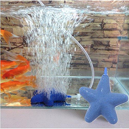 Bazaar Form Sterne Blase Stein von Luft für Aquarium Hydrokulturen von Fische Tank Belüfter Diffusor Pumpe Aquarium