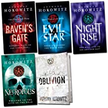 The Power of Five Pack, 5 books, RRP £44.95 (Evil Star; Nightrise; Oblivion; Necropolis; Raven's Gate).