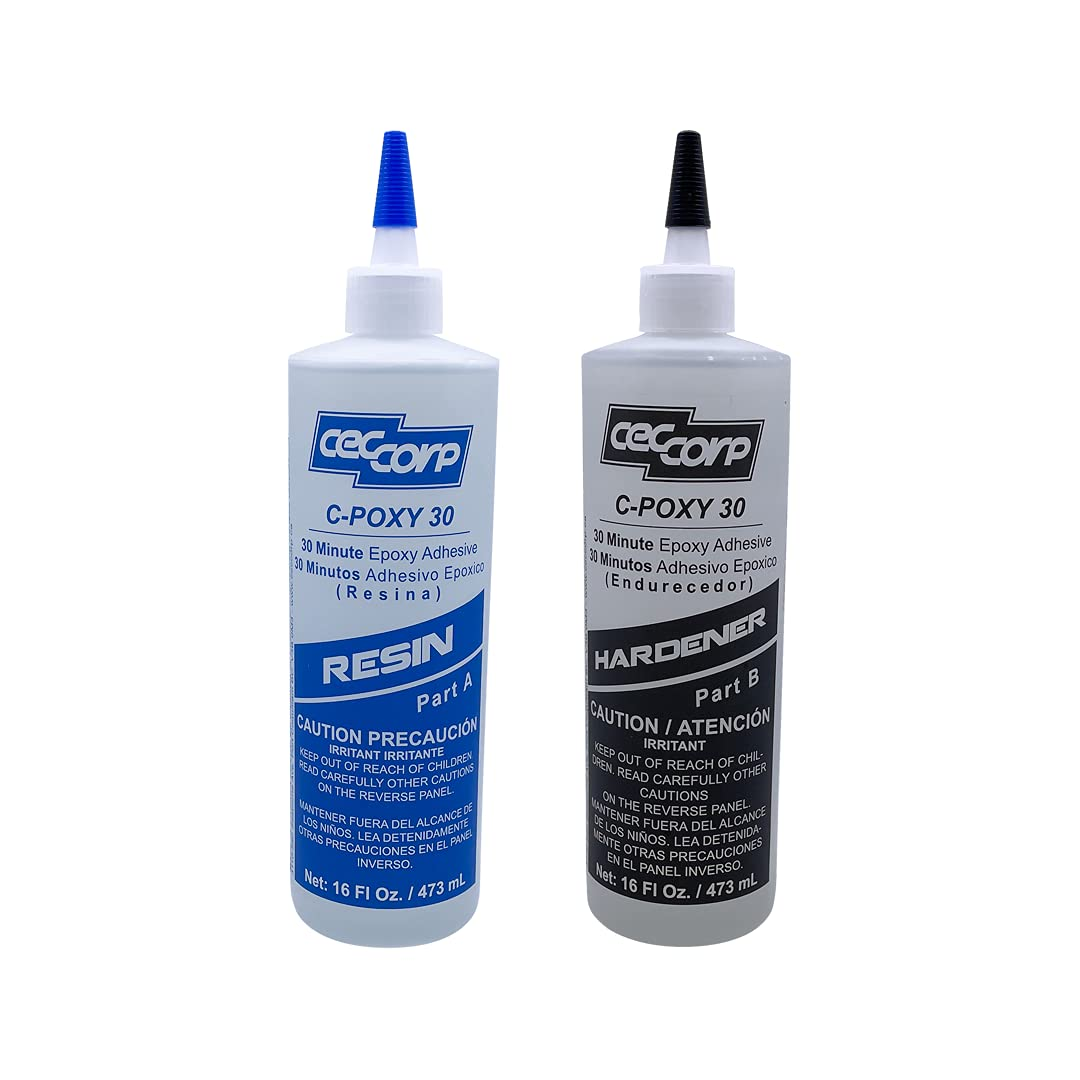 CECCORP Challenge the lowest price of Japan ☆ C-POXY 30 Two-Part 30-Minute Epoxy low-pricing Recommende Adhesive -