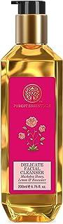 Forest Essentials Delicate Facial Cleanser Mashobra Honey, Lemon & Rosewater 200ml (Face Wash)