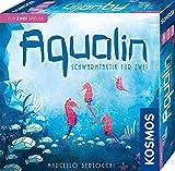 KOSMOS 691554 Aqualin - Schwarmtaktik für zwei, Brettspiel für 2 Spieler ab 10 Jahre
