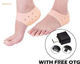 Maharsh Silicon Moisturising Heel Swelling Pain Relief Foot Support to Eliminate cracks