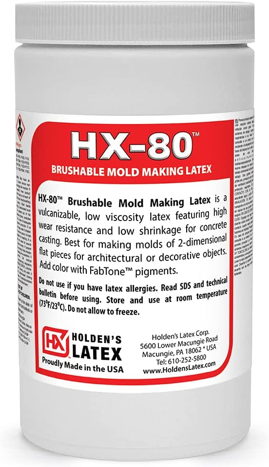 HX-80 Max 89% OFF Latex Brushable Animer and price revision Mold - Quart Making