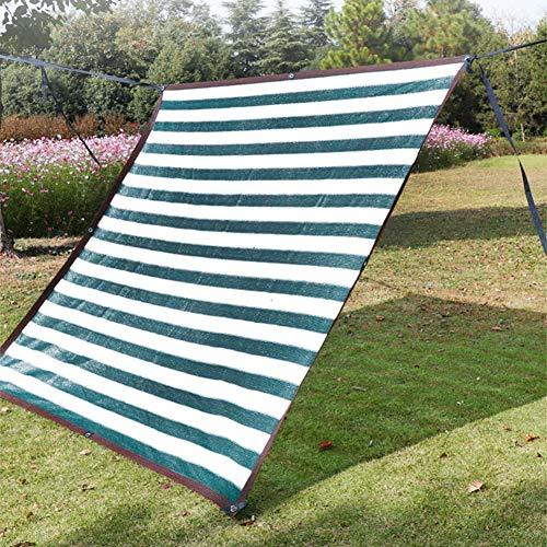 LSM Velas de Sombra 85% Paño de Sombra Pérgola Verde Oscuro con Ojales para Plantas de Flores de Jardín, Protector Solar Exterior Tela Neta Pantalla de Protección Solar Exterior (Size : 2×8m)