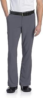 Landau Men's Drawstring Scrub Pant with Belt Loops