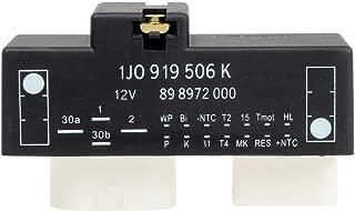 PartsSquare 1J0919506K Cooling Fan Control Unit Module Relay Compatible with AUDI TT 00 01 02 03 04 05 06/Replacements for VOLKSWAGEN BEETLE GOLF JETTA 00 01 02 03 04 05 06 07 08 09 10