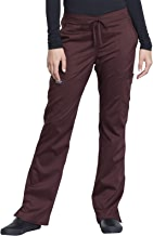 Cherokee Workwear Revolution Women's Mid Rise Moderate Flare Drawstring Scrub Pant