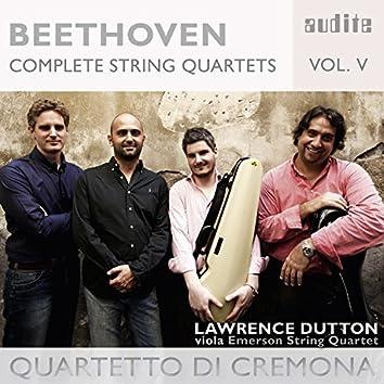 Beethoven: Complete String Quartets, Vol. 5