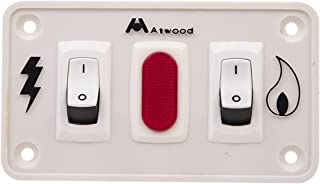 Atwood Mobile Products White 91230 Kit, Switch Panel Dual