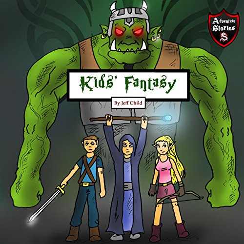 Kids' Fantasy: Battle Between the Orcs and Elves cover art