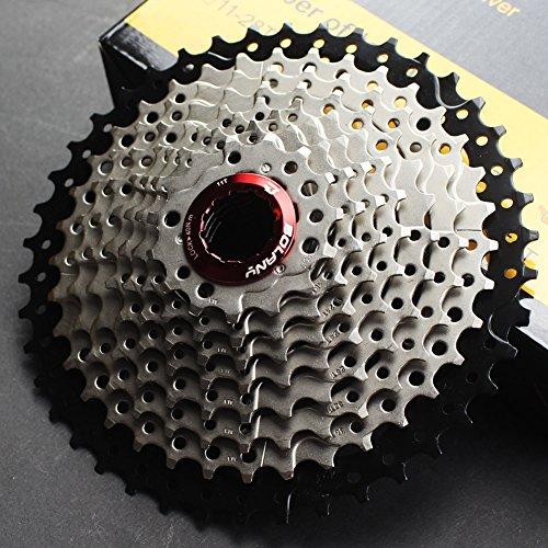 CYSKY 10-Fach Kassette 11-42T MTB Kassette 10 Speed Fit für Mountainbike, Rennrad, MTB, BMX, SRAM, Shimano
