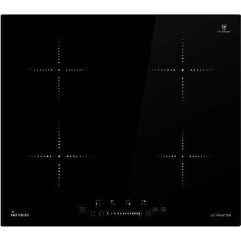 Induzione piano cottura 59cm 4 zone SUPER CERAMICA ® occhio Sensore Touch KKT Kolbe