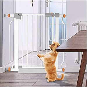 YONGYONG-Guardrail Expandable Extra Wide Baby Safety Gates Punch-free Walk Thru Pet-proof Fence Door Cats Cage For Balcony Indoor Anti-dog Stairway Isolation Railing Fence Pressure Mount