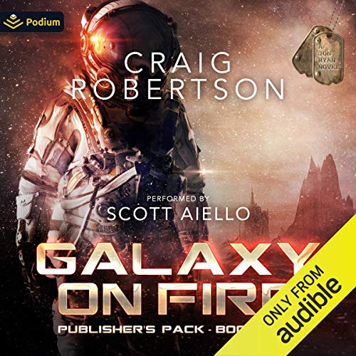 Galaxy on Fire: Publisher's Pack Audiobook By Craig Robertson cover art