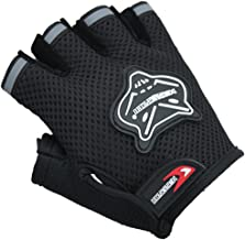 ZOONAI Cycling Gloves Boy Girl Child Children Mountain Bike Gloves Half Finger Biking Gloves Breathable Cycle Gloves
