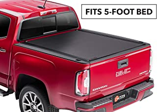 BAK Black 5 feet Revolver X4 Hard Rolling Truck Tonneau Cover | 79426 | fits 2016-18 Toyota Tacoma 5' Bed