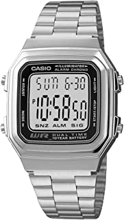 Casio Casual Watch Digital Display Quartz for Men A178WA-1AV
