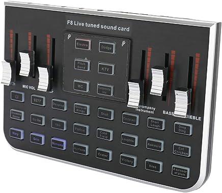 DDSHYNH Studio Audio Mixer Microfono qualità Eccellente Voice Music Audio Professionale USB Headset Karaoke Steamer Scheda Audio dal Vivo Mic - Trova i prezzi più bassi