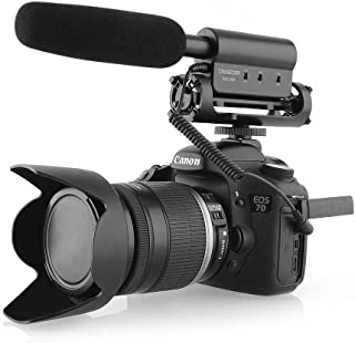 TAKSTAR SGC-598 Photography Interview Shotgun MIC Microphone for Nikon Canon DSLR Camera (Need 3.5mm Interface)