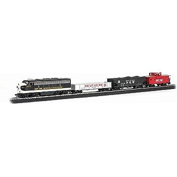 Bachmann Trains - Thoroughbred Ready To Run Electric Train Set - HO Scale