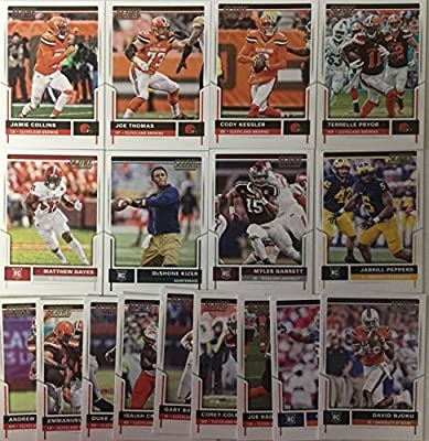 2017 Panini Score Football Cleveland Browns Team Set 17 Cards W/Rookies