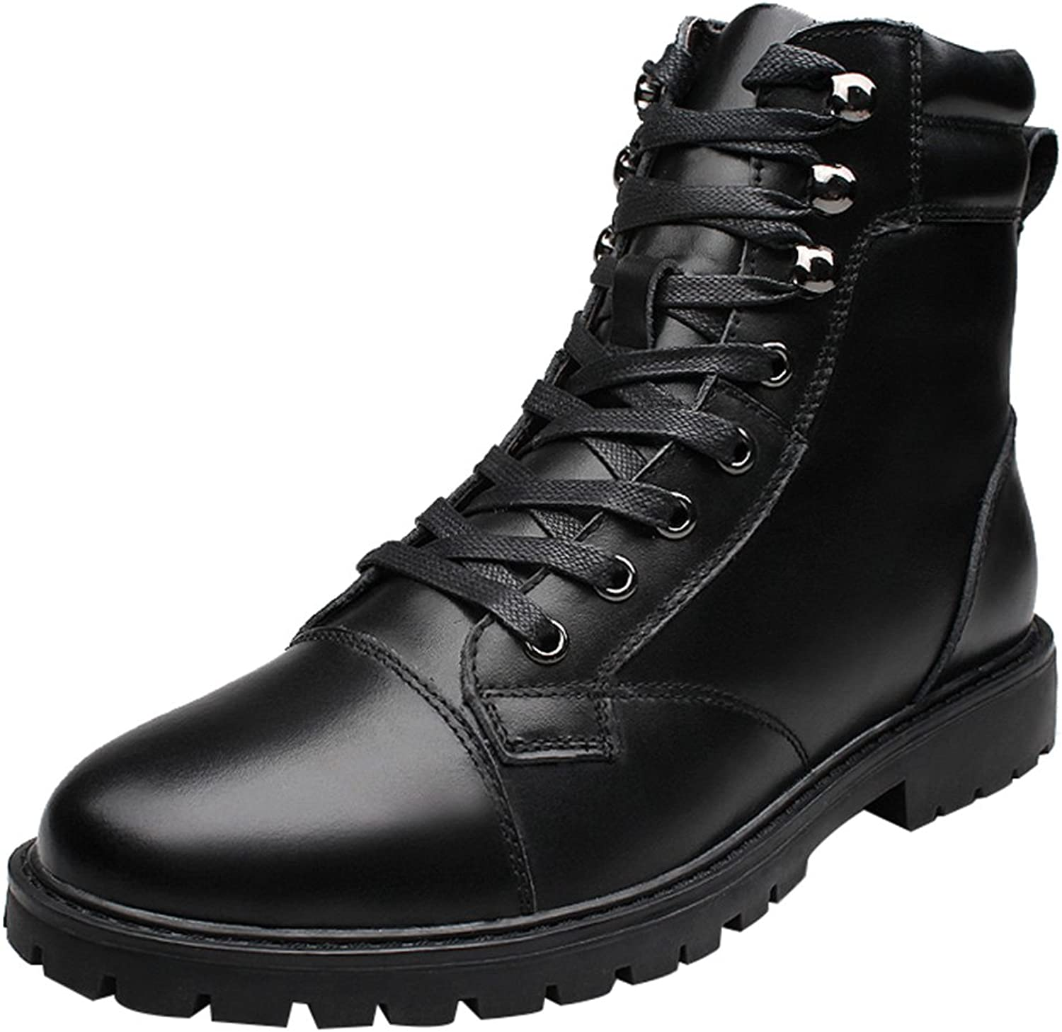 CFP D13098 Mens Ankle Boot Stylish Casual Leather High-top Warm Trip Working