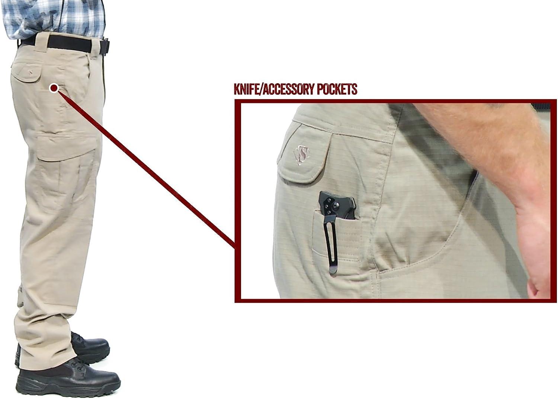 Tru-Spec Ascent Pantalon pour Homme série 24-7 Kaki
