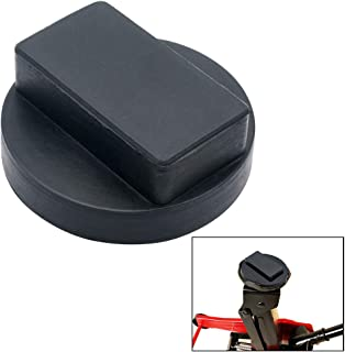 MASO Car Jacks Pad Floor Jack Adapters Hard Rubber Hoisting Support Tool for Mercedes Benz,Black,61X23 MM