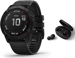 Garmin Fenix 6X PRO – GPS Multisportklocka – svart inkl. Bluetooth-headset