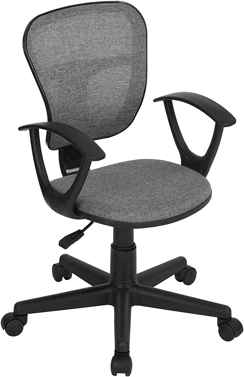ZF Collections Flying Fabric Office Desk Chair (Grey)