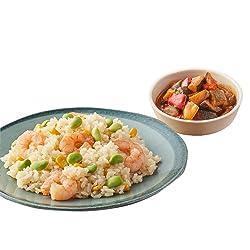 [冷凍] ミールキット Oisix ゴロっとえびのピラフ 4種野菜のラタトゥユ副菜付き 2人前
