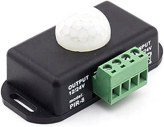 RGBZONE DC12V 24V PIR Sensor LED Dimmer Switch Motion Function Cotroller for 5050 3528 5630 Flexible LED Strips Light
