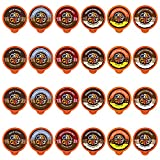 Crazy Cups Chocolate Lovers Coffee Pods Variety Pack, Chocolate Flavored Coffees, Compatible With K...