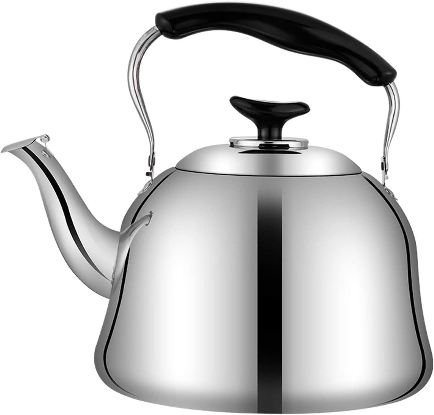 Doormat Tea Kettle for It is very popular Stove Whistling Steel 3L-6L Albuquerque Mall Stainless top