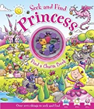 Seek and Find Princess: Find a Charm Book by Elliot, Rachel (2014) Hardcover