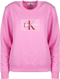 Calvin Klein Women's J20J209740-Pink Sweatshirts