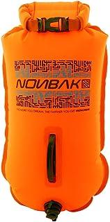 Nonbak boya de natación para Aguas Abiertas con Bolsa estanca. Multifuncional. Swim Buoy. Visibilidad y Seguridad al Nadar. Bolsa Seca. Beach Bag. Capacidad 28L. Distribuidores Oficiales (Orange)