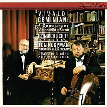 Vivaldi & Geminiani: Cello Sonatas