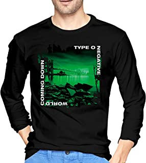 LilianR Type O Negative World Coming Down Men's Long Sleeve T-Shirts Black